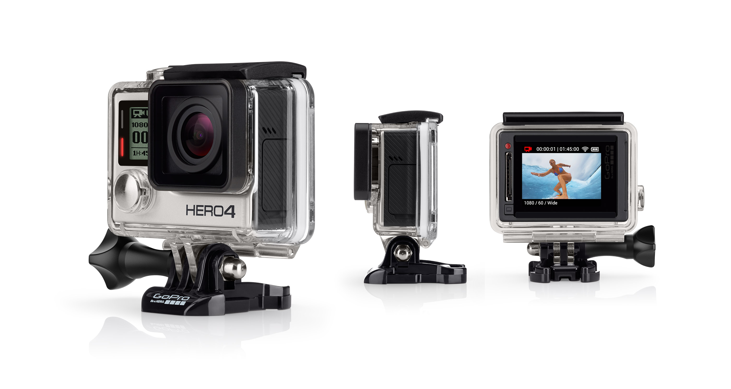 Camera Thể Thao GoPro Hero 4 Silver