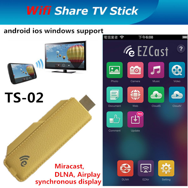 EZCast TS-02 Miracast Wi-Fi Display Full HD 1080P