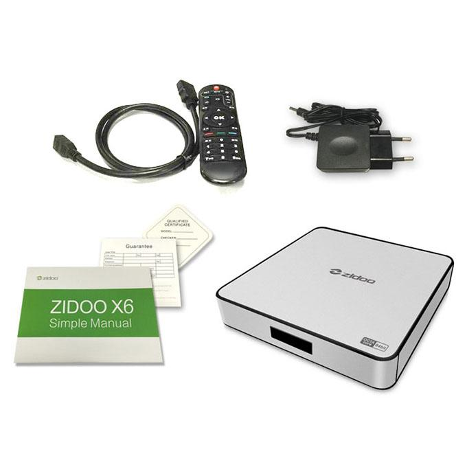 Android Tv Box ZIDOO X6 PRO ROCKCHIP R3368