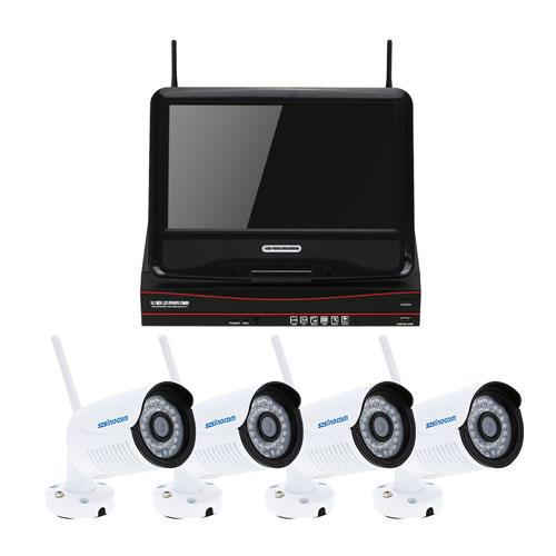 Camera IP Home Kit X4-HD LCD 10inch
