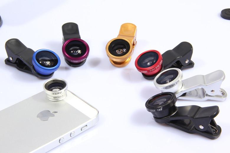 Lens chụp hình 3 in 1-003 cho IPhone, Samsung, HTC, IPad, Tablet, PC ....