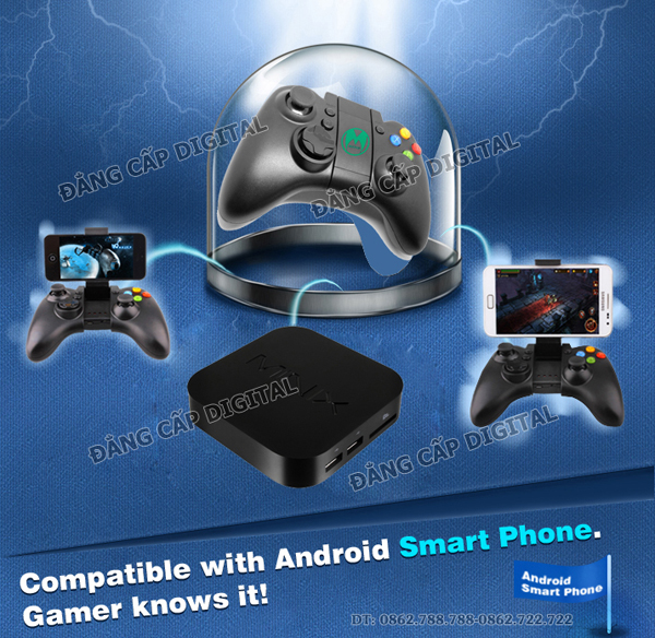Tay game Mixpad X9 ( Bluetooth 3.0) cho Android Tv Box/Mini PC/Smartphone/Tablet PC + IOS