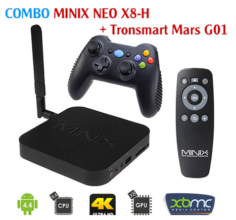 Combo Neo X8-H + Tay game Tronsmart G01