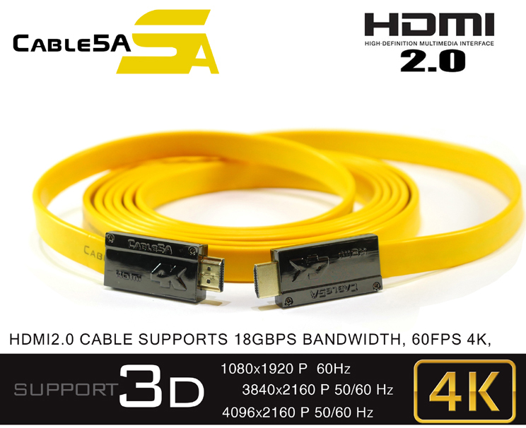 CABLE HDMI 2.0 5APRO866 5M